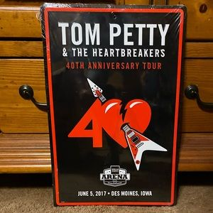Tom Petty & The Heartbreakers Tin Sign